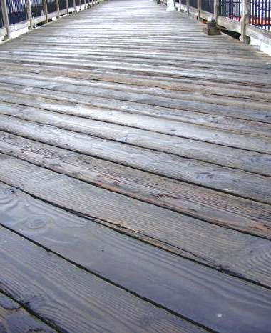 How To Fix A Slippery Boat Dock.