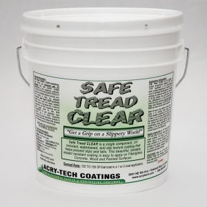 "Safe Tread Anti Slip Coating - Clear ""Coarse Grit"" 1 Gallon"