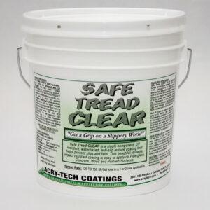 "Safe Tread Anti Slip Coating - Clear ""Coarse Grit"" 1 Gallon"