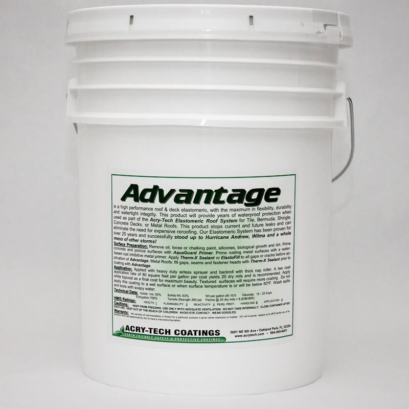 Advantage Elastomeric Coating 5 Gallons