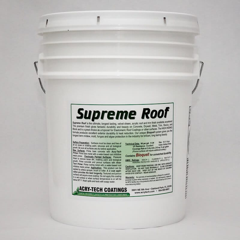 Supreme Roof with Bioquell 5 Gallons